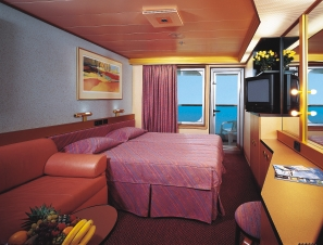 Halloween costume balcony cabin accommodations for Balcony cabin cruise deals